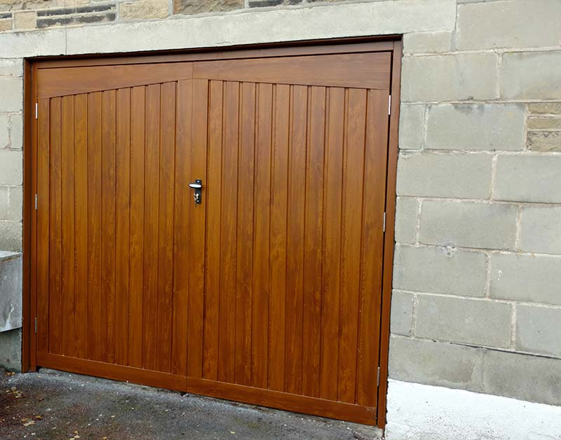 Side Hinged Garage Doors Bradford Halifax Huddersfield Access