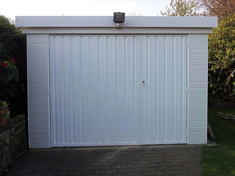 Side hinged garage doors bradford halifax huddersfield for Garage side entry door