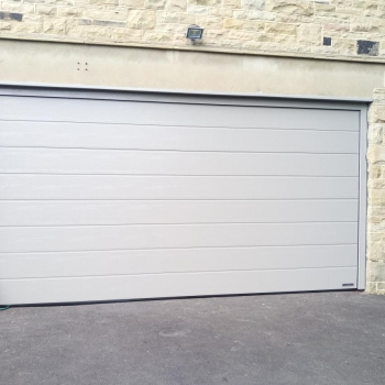 Hormann m-ribbed Sectional RAL 7030 Stone Grey