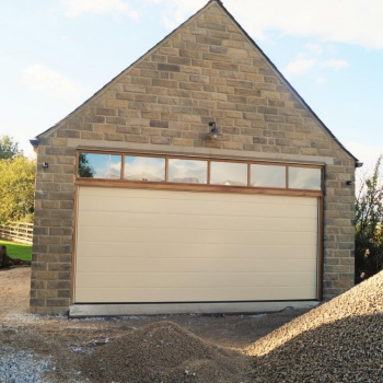 Ribbed Light Ivory with AGD Yorkshire Windows
